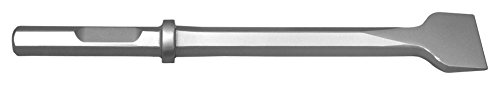 Champion Chisel, 1-1/8 by 6-Inch Hex Shank with Notch, 14-Inch Long by 3-Inch Wide Chisel - Designed for 60lb & 90lb Pneumatic Hammers by Champion Chisel Works
