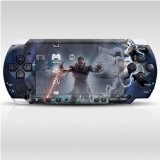 Star Wars Decorative Protector Skin Decal Sticker for PSP-3000, Item No.0858-56