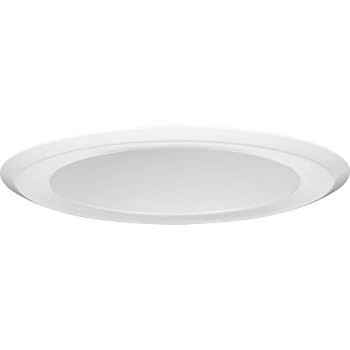 "Progress Lighting P8268-28 Recessed 5"" Deep Cone Reflector Trim, 4-3/4"" x 6-9/16"", Satin White"