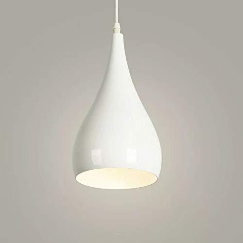 (Blanco) Moderno Lámpara de Techo E27 / E26 Metal Pantallas de Iluminación Colgante de Luz, Vintage Industrial Iluminación Colgante