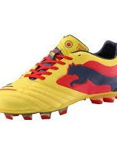 Scarpe da calcio da uomo PUMA Power Cat 4 AG Blazing Yellow Flame Scarlet, N-41), N-41