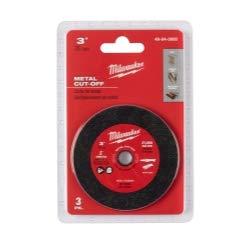 (Milwaukee 49-94-3000 3-inch Metal Cut Off Wheel - 3 Pack)