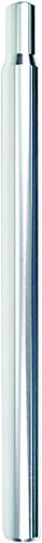 Action Alloy 25.6X350 Straight Silver Seatpost
