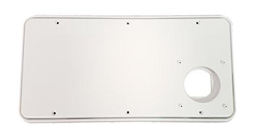 Atwood 31863 Medium Flush Exterior Door Arctic White For
