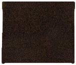 Hummer H2 Carpeted Floor Mats Cargo Area - Crew Cab Pickup - Dark Brown (2003 03 2004 04 2005 05 2006 06 2007 07 ) AMSLWM2976S6BZW