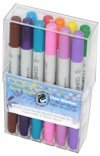 Copic Markers Ciao Stamping Basic Brights Marker, 12-Piece Set