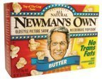 Newman's Own Butter Microwave Popcorn 3 pk 10.5 oz (Pack of 12)