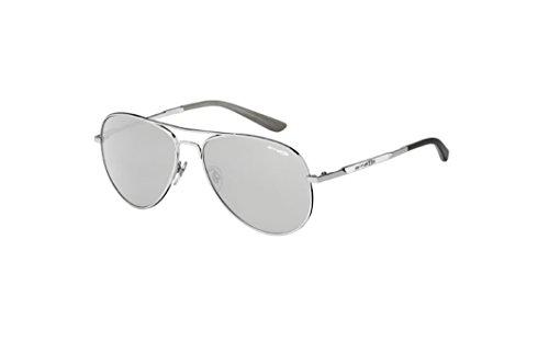 Arnette Trooper AN3065-05 Aviator Iridium Sunglasses,Polished Chrome/Chrome Mirror,59 - Aviators Arnette