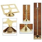 Set of 3 Altar Appointments Brass by US Gifts