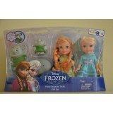 Disney Frozen Petite Surprise Trolls Gift Set Anna Elsa Doll Exclusive by Disney Frozen - Exclusive Doll Set