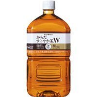 Body healthy tea W (Tokuho) Pet 1050ML 1050ML X 12 present by Body healthy tea W (Tokuho) Pet