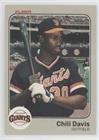 Chili Davis (Baseball Card) 1983 Fleer - [Base] #257
