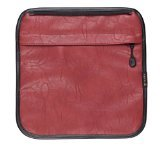 Tenba Switch 7 Interchangeable Flap - Brick Red Faux Leather - Belt Canvas Zebra