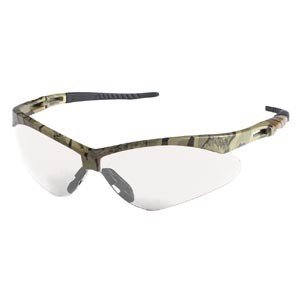 jackson nemesis safety glasses camo frame clear lens
