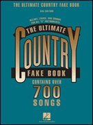 (The Ultimate Country Fake Book, 5th Edition)