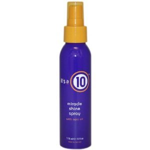 - It's A 10 Miracle Shine Spray 4 oz Unisex