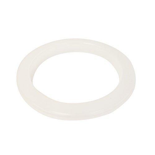 (1 X Ceramic Porcelain Crock Plastic Protection Ring - White)