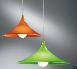 ROSSINI Lampada sospensione metacrilato VERDE 3485-55-V: Amazon.it ...