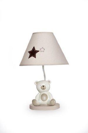 Amazon.com: Carter s Base de la lámpara y sombra, bebé oso ...