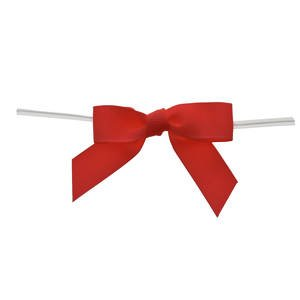 Large Red Grosgrain Bows by Retail Resource