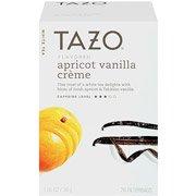 Tazo Apricot Vanilla Creme White Tea, 20 count (pack of 4)