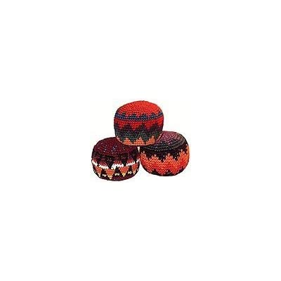 Hacky Sack~ Set of 3 ~ Assorted Colors ~ ~ Imported From Guatemala: Sports & Outdoors