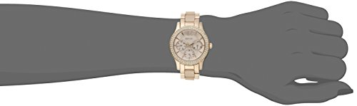 Relic by Fossil Women's Bethany Quartz Stainless Steel and Ceramic Dress Watch, Color: Rose Gold, Blush (Model: ZR15790)