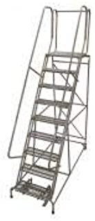product image for Cotterman 1509R2632A3E20B4W5C1P6 - Rolling Ladder Steel 120In. H. Gray