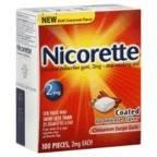 Nicorette Stop Smoking Aid Cinnamon Surge Gum, Cinnamon Surge Gum - 100 each, Pack of 3