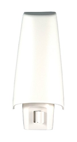 GE White Shade Night Light