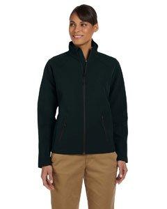Devon & Jones Ladies' Bonded Tech-Shell Duplex Jacket M Black