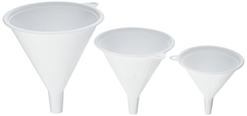 Set Plastic Funnels Assorted Nested