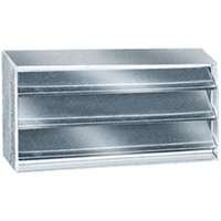 Fndtn Vent 16x18in Steel/Alum (Aluminum Foundation Vents)