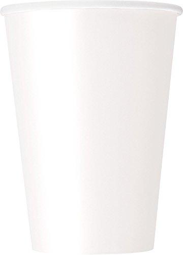 12oz White Paper Cups 10ct