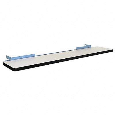 Pro-Line CSPL1260P/L14 Cantilever Shelf with Plastic Laminate, Light Blue ()