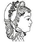 - 1874-1890 Bebe Bonnet Pattern