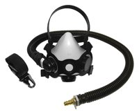 SAS Safety 9813-70 Low Maintenance Supplied-Air Halfmask, Medium by SAS Safety