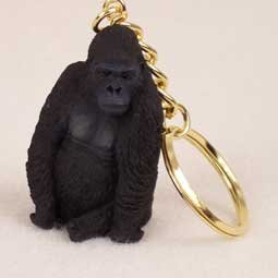 Gorilla Keychain - Gorilla Key Chain (Set of 3)