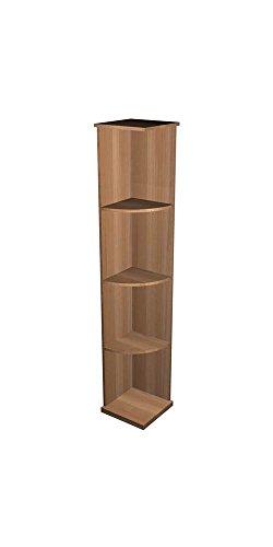 UPC 789521276223, Quarter Round Display Wine Shelf (All-Heart Redwood - Midnight Black Stain)