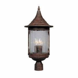 Designers Fountain 20936-CHN Canyon Lake Post Lanterns, Chestnut by Designers Fountain