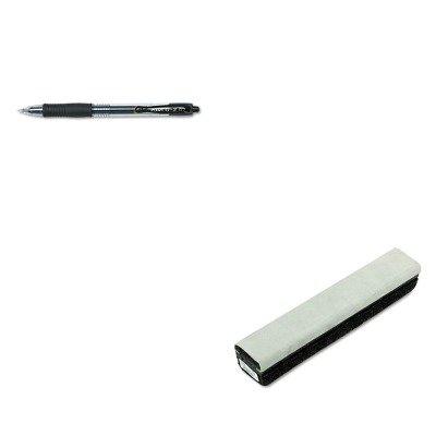 KITPIL31020QRT807222 - Value Kit - Quartet Deluxe Chalkboard Eraser/Cleaner (QRT807222) and Pilot G2 Gel Ink Pen (Qrt807222 Deluxe Chalkboard Eraser)