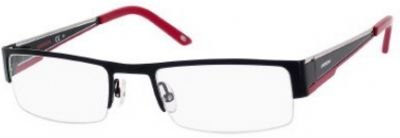 Carrera 7548 Eyeglass Frames CA7548-0IAM-5320 - Black Red Frame, Lens Diameter 53mm, Distance
