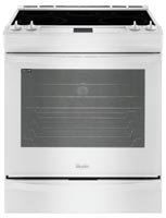 Whirlpool 6.2 Cu. Ft. White Slide-In Electric Range - Whirlpool White Electric Range