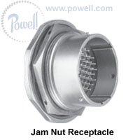 Circular MIL Spec Connector 37P 15 SIZE JAM NUT RECEPTACLE SKT