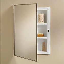 Jensen 840M18CH Basic Styleline Recessed Mount Medicine Cabinet