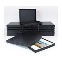 Archival Methods Black Proof Box, Size 8-1/4x10-3/8x1-3/8'', Color: Black