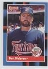 Bert Blyleven (Baseball Card) 1988 Donruss - [Base] #71