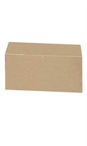 Count of 50 New pc-13155-618 Gift Boxes Kraft 12''L x 6''W x 6''D