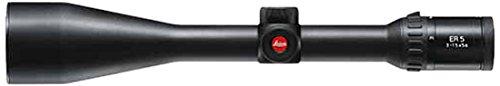 Leica Sport Optics ER 5 3-15x50mm 30mm Tube Magnum Ballistic Reticle Riflescope, Matte Black