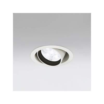 LEDユニバーサルダウンライト M形 φ100 JR12V-50W形 LED5灯 配光角20°非調光 オフホワイト 電球色形 B07RZN8CDZ